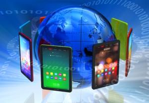 verschiedene Tablets