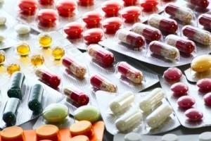 verschiedene Tablettenformen
