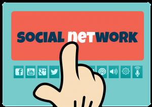 Grafik zu social network