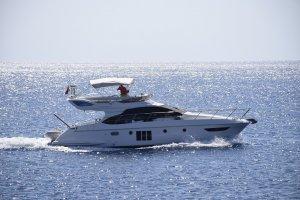 Kleine Yacht auf der Adria