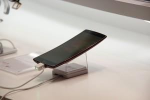 neues Smartphone in der Ladestation