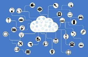 viele Geräte vernetzt - Internet der Dinge