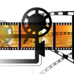 Projektor für Videos und Filme