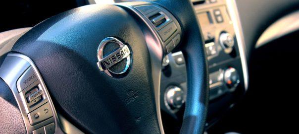 Innenansicht eines Gebrauchtwagens