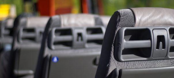 Innenansicht eines Busses
