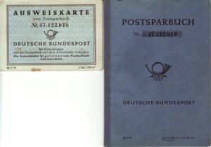 ein altes Postsparbuch