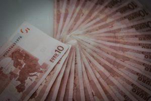10 Euro Scheine im Fächer