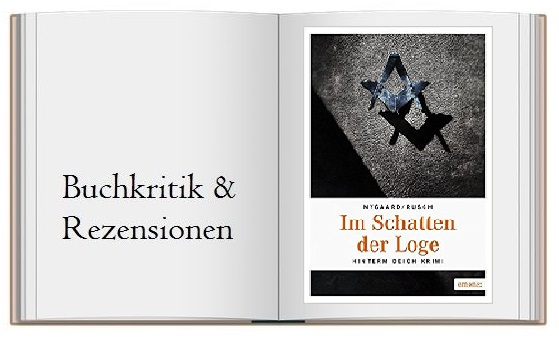 Buchcover zur Rezension des Buches: Im Schatten der Loge: Hinterm Deich Krimi von Hannes Nygaard