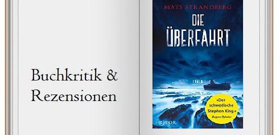 """Cover des Horror-Thrillers """"Die Überfahrt"""""""