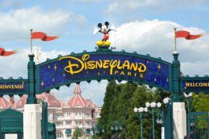 Eingang zum Disneyland in Paris