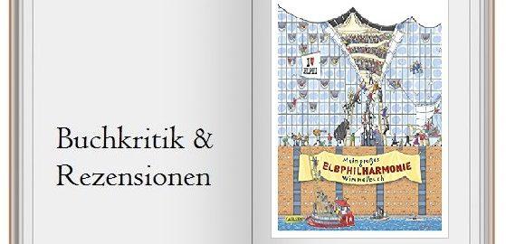 Buchcover vom Mein großes Elbphilharmonie Wimmelbuch