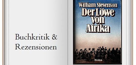 """Cover des Buches von """"Der Löwe von Afrika"""""""