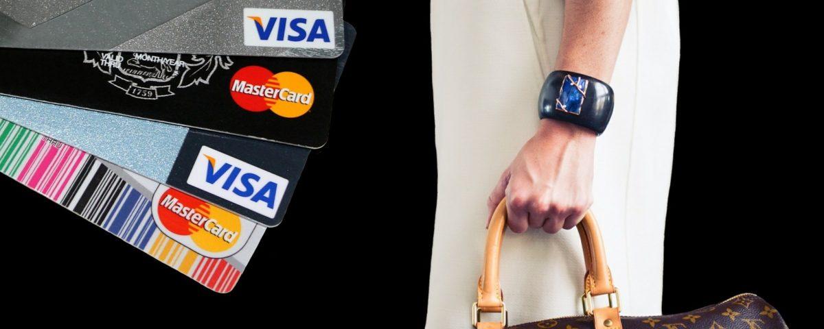 diverse Kreditkarten
