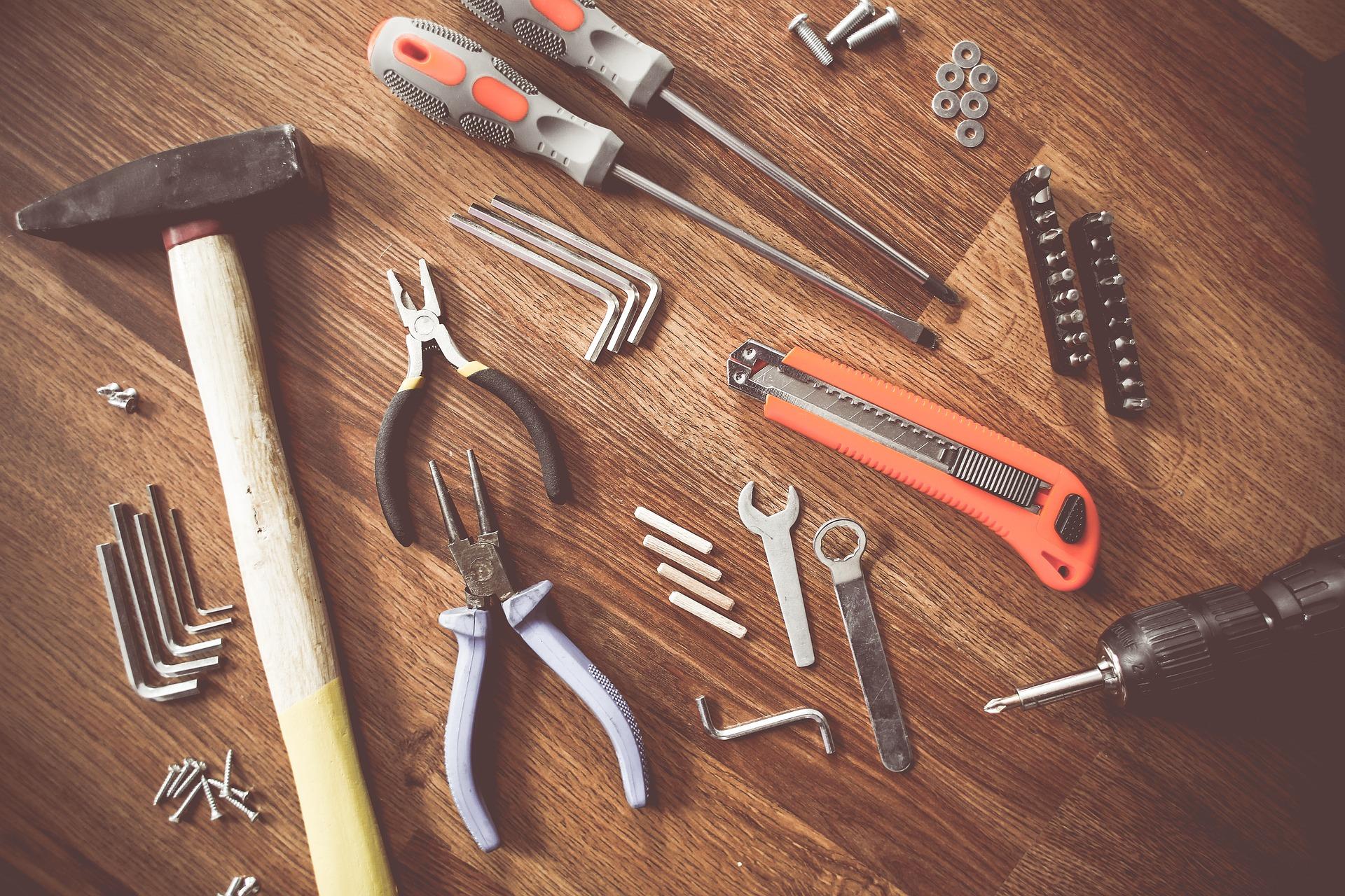 Werkzeug aus dem Baumarkt