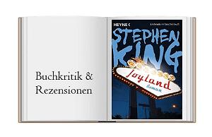 Cover des Buches zur Buchkritik zu Joyland von Stephen King