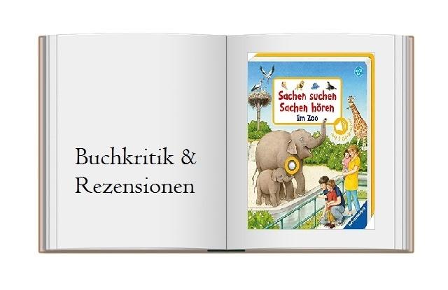 Sachen suchen, Sachen hören: Im Zoo - Buchcover zur Kritik