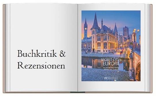 Cover zur Buchkritik Reiseziele Secret Citys Europa 70 charmante Städte abseits des Trubels