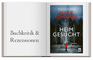 Cover des Buches zur Buchkritik zu Heimgesucht von Mark Edwards