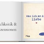Buchcover zu: Was ich an dir liebe: Eine originelle Liebeserklärung zum Ausfüllen und Verschenken