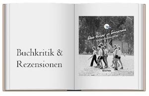 Buchcover zur Kritik von Blaue Wimpel im Sommerwind