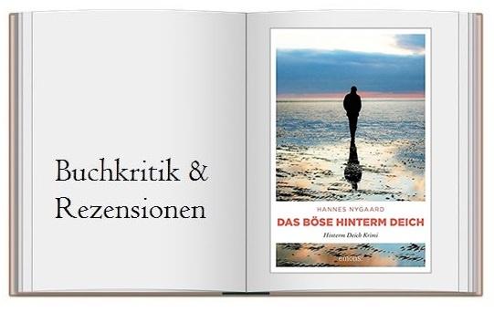 Cover zur Buckritik Das Böse hinterm Deich von Hannes Nygaard