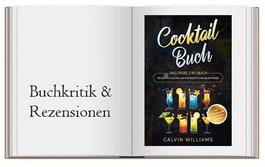 Cover zur Buchkritik von COCKTAIL BUCH: Das große 2 in 1 Buch