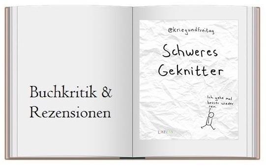 Schweres Geknitter - Cartoons und Collagen Buchkritik