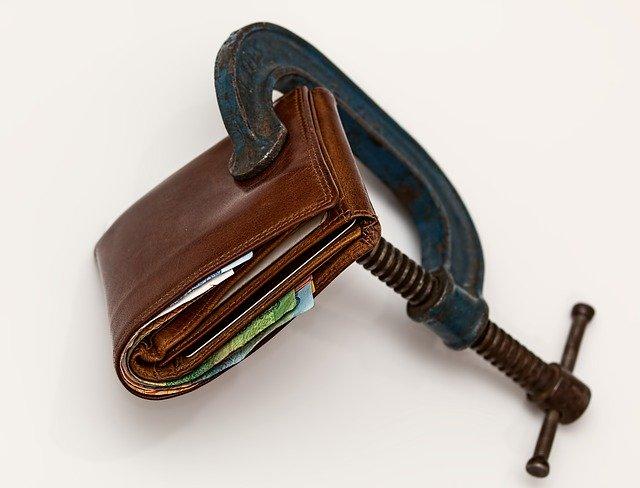 Wenig Geld in der Kasse