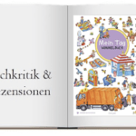 Cover zur Buchkritik Wimmelbuch Mein Tag