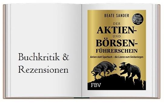 Cover zur Buchkritik von Der Aktien- und Börsenführerschein – Jubiläumsausgabe