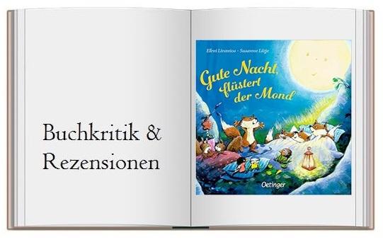 Cover zur Buchkritik von Gute Nacht, fluestert der Mond