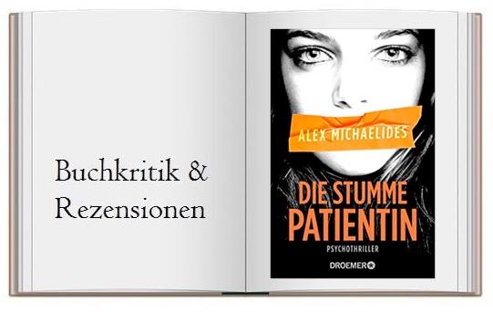Die stumme Patientin Cover des Buches zur Kritik