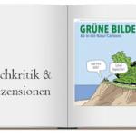 Cover zur Buchkritik von Gruene Bilder Ab-in-die-Natur-Cartoons