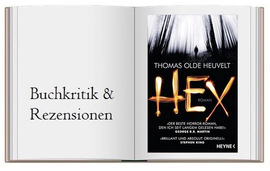 Cover zur Buchkritik von Hex von Thomas Olde Heuvelt