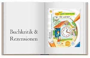 Cover zur Buchkritik von tiptoi® Uhr und Zeit (tiptoi® Mein Lern-Spiel-Abenteuer)