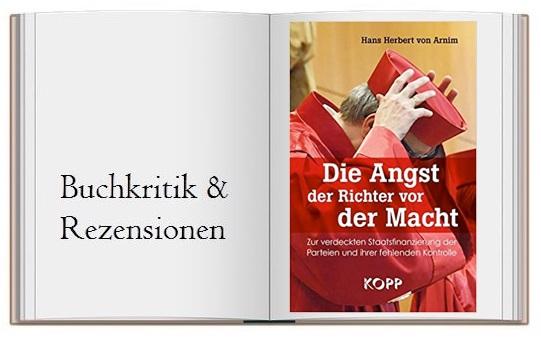 Buchcover zur Kritik von Die Angst der Richter vor der Macht