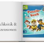 Buch zur Kritik: Paw Patrol Puzzlebuch Helfer auf vier Pfoten mit 5 Puzzles